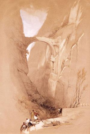 Staden Petra upptäcks
